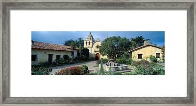 Mission San Carlos Borromeo De Carmelo Framed Print