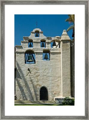 Mission San Gabriel Arcangel Framed Print by Richard and Ellen Thane