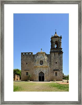Mission San Jose Sa Framed Print