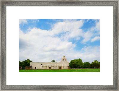 Mission San Juan Capistrano - Texas Framed Print