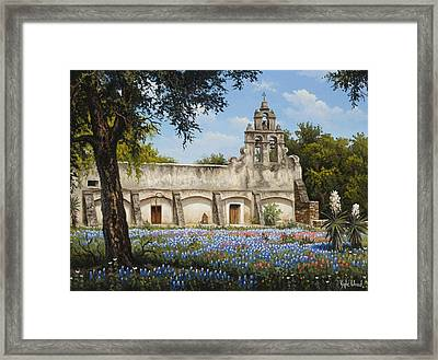 Mission San Juan Framed Print by Kyle Wood