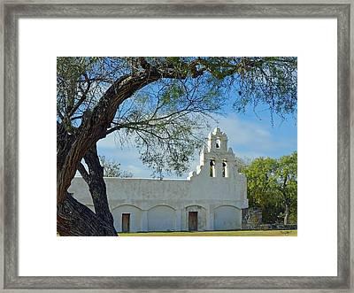 Mission San Juan Framed Print
