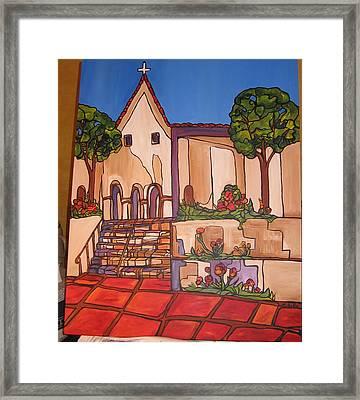 Mission San Luis Opispo Framed Print by Michelle Gonzalez