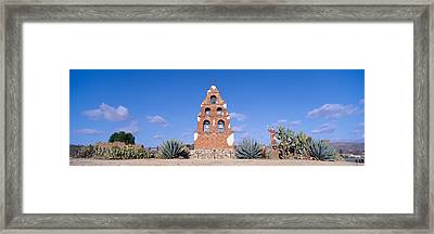 Mission San Miguel, San Miguel Framed Print by Panoramic Images