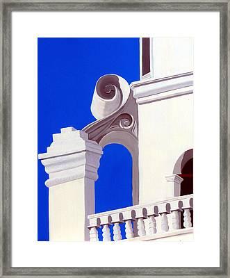 Mission San Xavier Del Bac Framed Print by Karyn Robinson