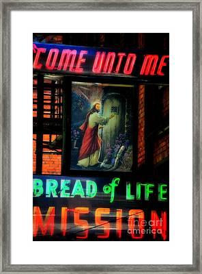 Mission Statement  Framed Print