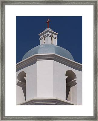 Mission Top Framed Print