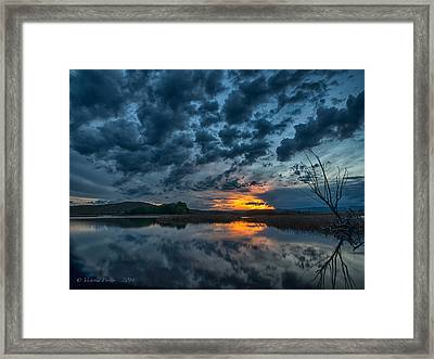 Mission Valley Sunset Framed Print