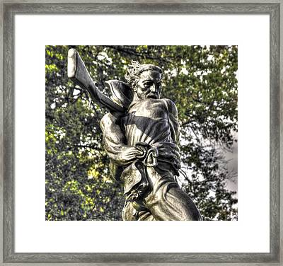 Mississippi At Gettysburg - The Rage Of Battle No. 2 Framed Print by Michael Mazaika