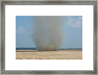 Mississippi Dust Devil Framed Print