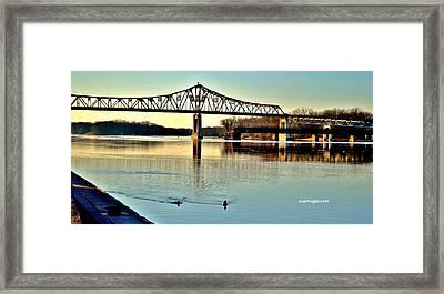 Mississippi Framed Print