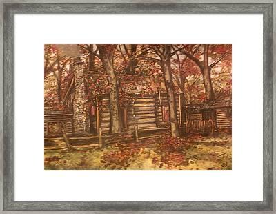 Missouri Compromise Framed Print