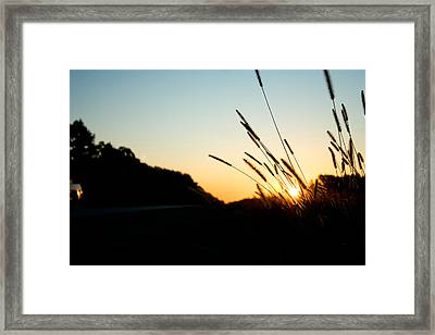 Framed Print featuring the photograph Missouri Morning by Jon Emery
