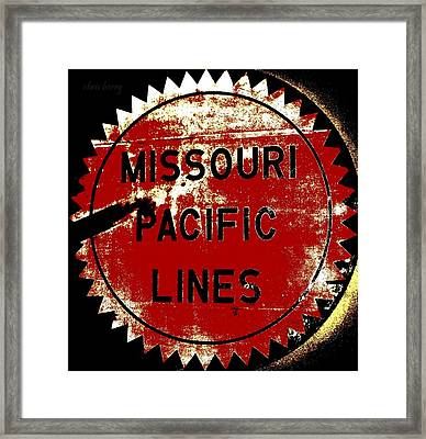 Missouri Pacific Lines Framed Print