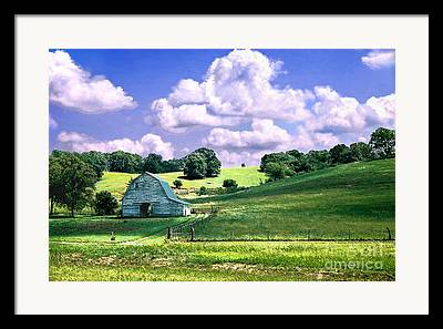 Agriculture Digital Art Framed Prints