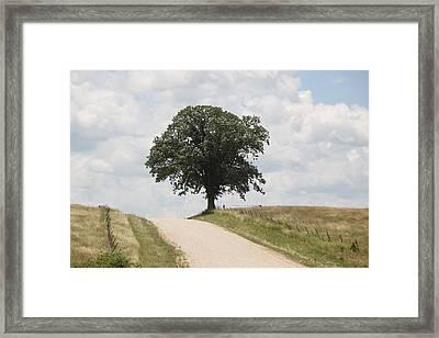 Missouri Road Framed Print