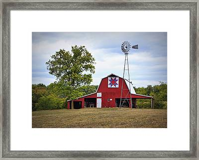 Missouri Star Quilt Barn Framed Print
