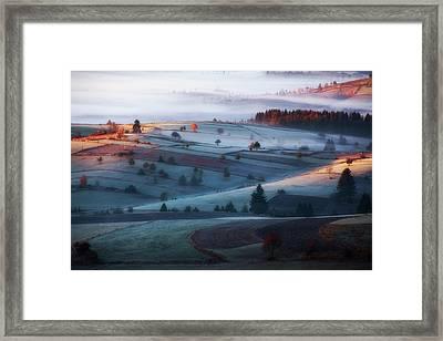 Mist Framed Print by Amir Bajrich