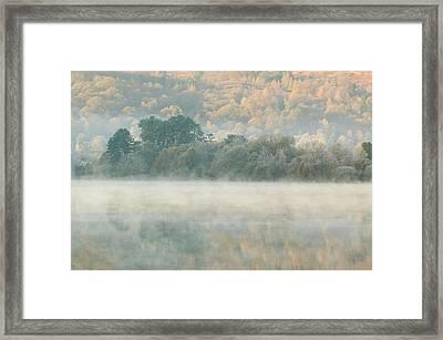 Mist Over Grasmere Framed Print