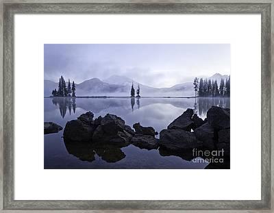 Mist Rising Framed Print
