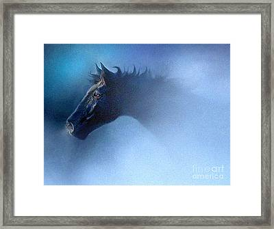 Mist Runner Framed Print by Robert Foster