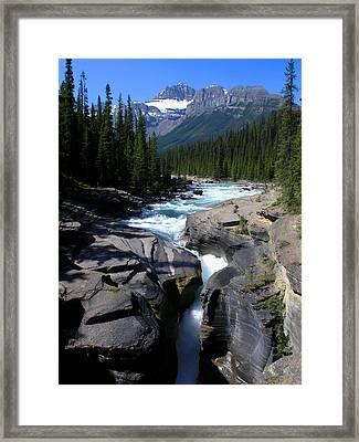 Mistaya Canyon Framed Print