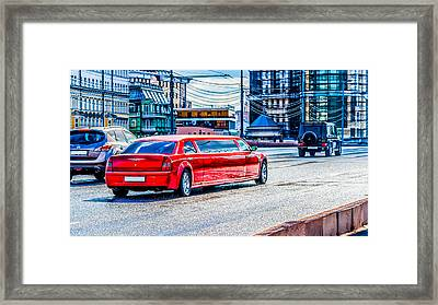 Mister Big Framed Print by Alexander Senin