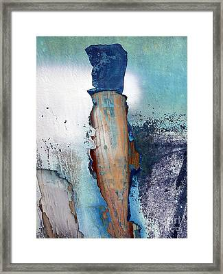 Mister Blue Framed Print