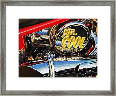 Mister Cool  Framed Print by Chris Berry