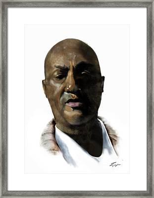 Mister Howard Grant Framed Print by Reggie Duffie