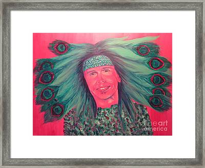 Mister Peacock Framed Print by Jeepee Aero
