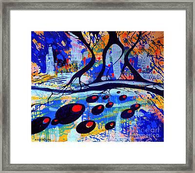 Mistero Framed Print