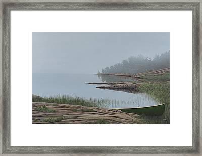 Mistified Framed Print by Kenneth M  Kirsch