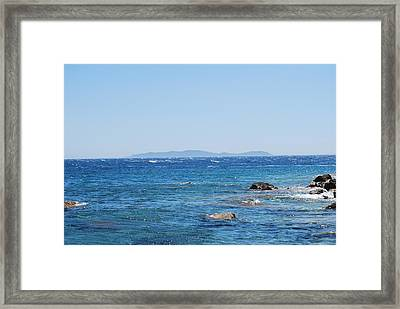 Framed Print featuring the photograph Mistral.force 6 by George Katechis