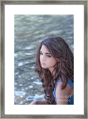 Mistress Of Dreams Framed Print by Evelina Kremsdorf