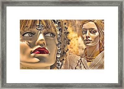 Mistrust Framed Print
