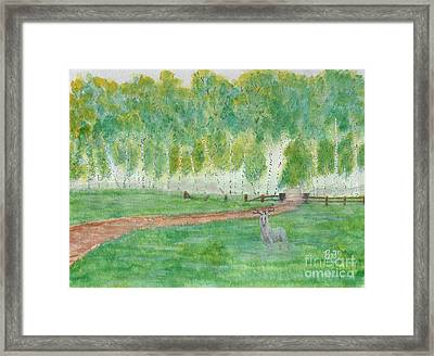 Mist's Guardian Framed Print