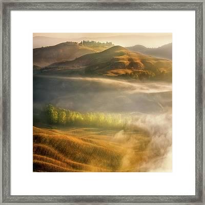 Mists... Framed Print
