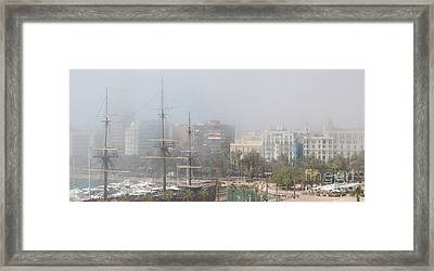 Misty Alicante Framed Print