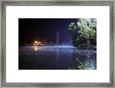 Misty Belle Isle Framed Print by A And N Art