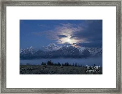 Misty Blue Persuasion Framed Print by Idaho Scenic Images Linda Lantzy