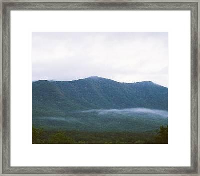 Misty Framed Print by Cynthia Syracuse
