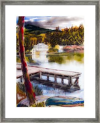 Misty Dream Framed Print by Kip DeVore