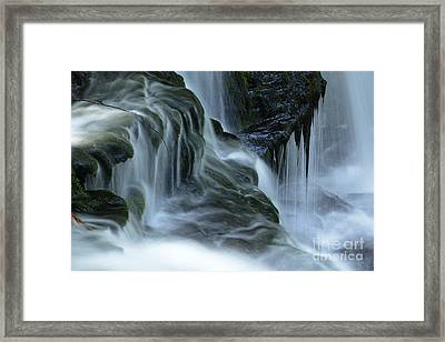 Misty Falls - 70 Framed Print by Paul W Faust -  Impressions of Light