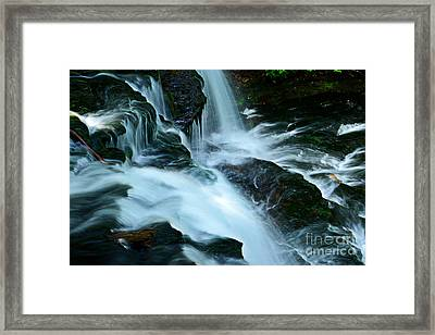 Misty Falls - 72 Framed Print by Paul W Faust -  Impressions of Light