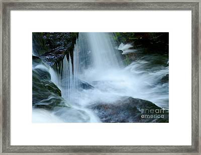 Misty Falls - 73 Framed Print by Paul W Faust -  Impressions of Light