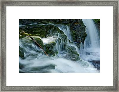 Misty Falls - 74 Framed Print by Paul W Faust -  Impressions of Light