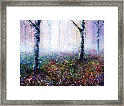 Misty Memories Framed Print by Ann Marie Bone