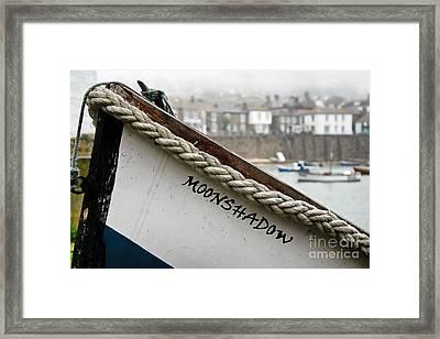 Misty Moonshadow Framed Print by Susie Peek