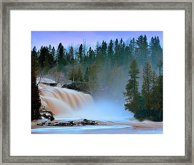 Misty Morning Framed Print by Gregory Israelson
